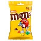 M&M's Peanut Orzeszki ziemne oblane czekoladą w kolorowych skorupkach 90 g
