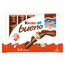 Kinder Bueno Wafer Covered with Milk Chocolate and Filled with Milk-hazelnut Cream 3 x 43 g