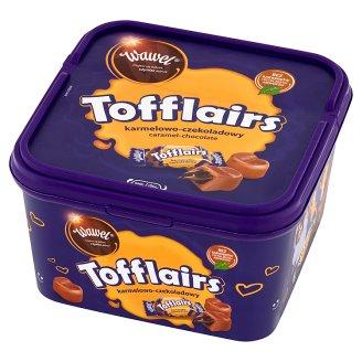 Wawel Tofflairs karmelowo-czekoladowy Pomadki mleczne niekrystaliczne 650 g