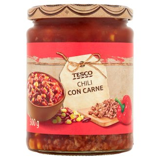 Tesco Chili Con Carne 500 g