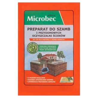 Microbec ultra Preparation for Septic Tanks and Sewage Treatment Plants 25 g