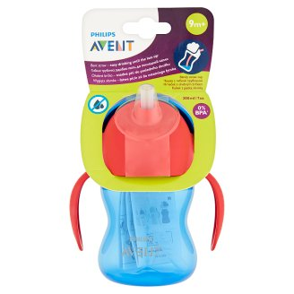 Avent Bent Straw Cup after 9 Months 200 ml