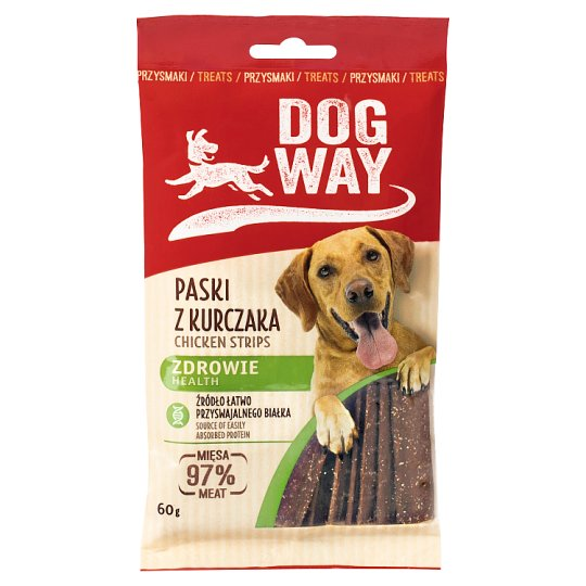 Dogway Health Chicken Strips Delicacy for Dog 60 g