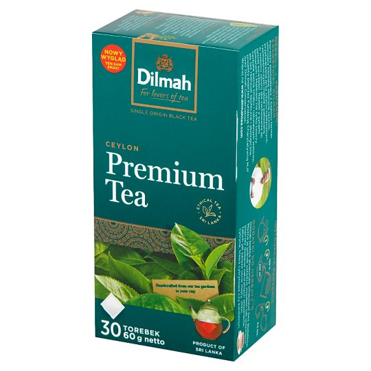 Dilmah Premium Traditional Black Tea 60 g (30 x 2 g)