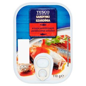 Tesco Sardines in Tomato Sauce 110 g