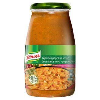 Knorr Sos śmietanowo-paprykowy z cebulą i natką pietruszki 500 g
