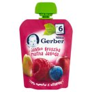 Gerber Deserek Jabłko gruszka malina jagoda po 6 miesiącu 90 g
