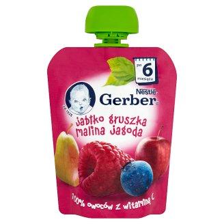 Gerber Apple Pear Raspberry Blueberry after 6 Months Onwards Dessert 90 g