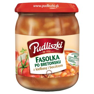 Pudliszki Beans with Sausage and Bacon 500 g