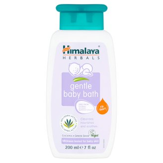 Himalaya Herbals Delikatny płyn do kąpieli dla dzieci 200 ml