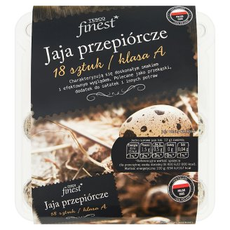 Tesco Finest Quail Eggs 18 Pieces