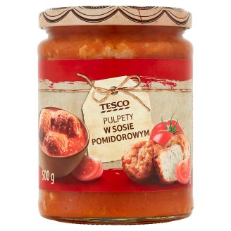 Tesco Meatballs in Tomato Sauce 500 g