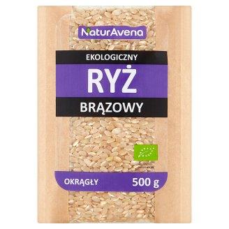 NaturAvena Round Brown Organic Rice 500 g