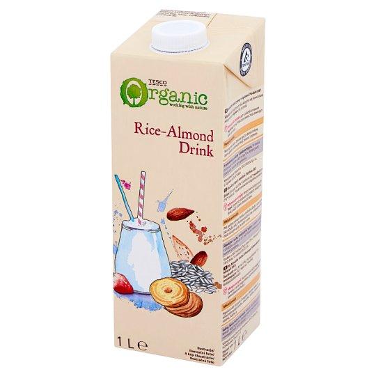 Tesco Organic Rice-Almond Drink 1 L