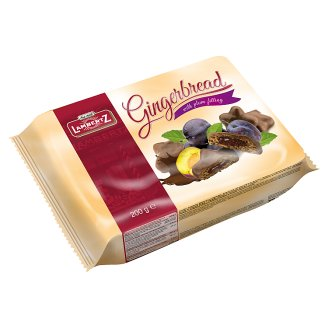 Lambertz Gingerbread in Chocolate with Plum Filling 250 g