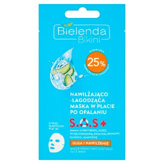 Bielenda Bikini Moisturizing and Soothing Face Mask