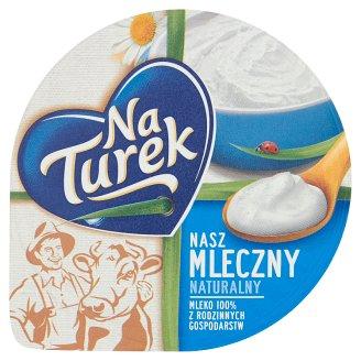 NaTurek Nasz Mleczny Natural Curd Cheese 140 g