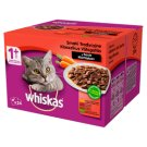 Whiskas 1+ Years Traditional Flavours with Vegetables in Sauce Complete Cat Food 2.4 kg (24 x 100 g)