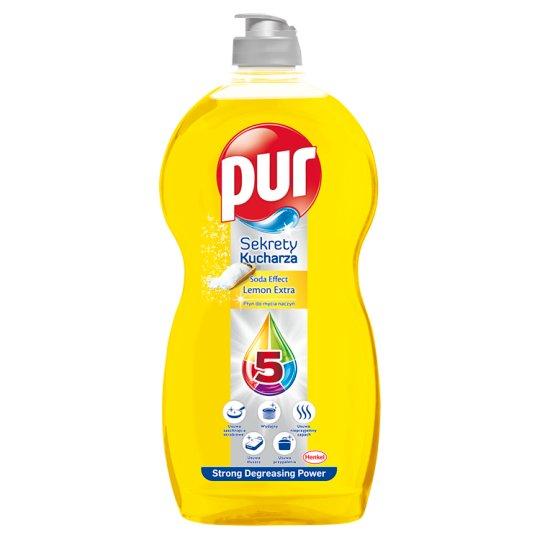 Pur Sekrety Kucharza Lemon Extra Płyn do mycia naczyń 1,35 l