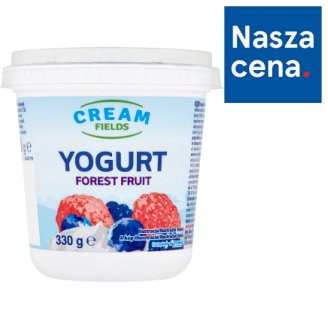 Cream Fields Forest Fruit Yoghurt 330 g