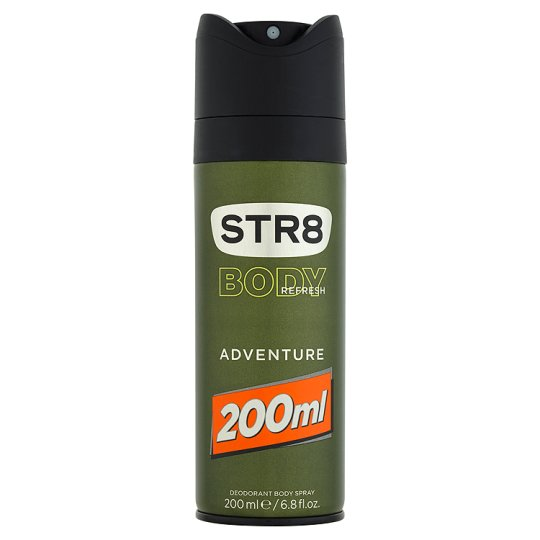 STR8 Body Refresh Adventure Deodorant Body Spray 200 ml