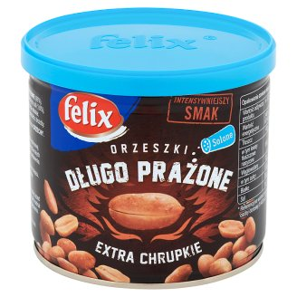 Felix Extra Crisp Long Roasted Peanuts 140 g