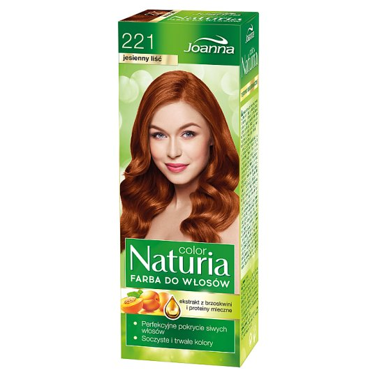 Joanna Naturia color Hair Dye Autumn Leaf 221