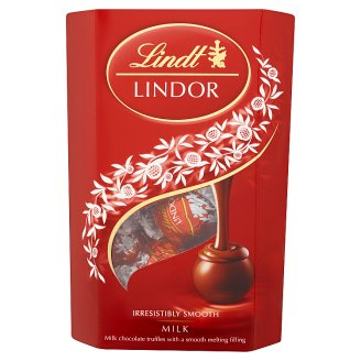 Lindt Lindor Milk Chocolate with a Smooth Filling 200 g