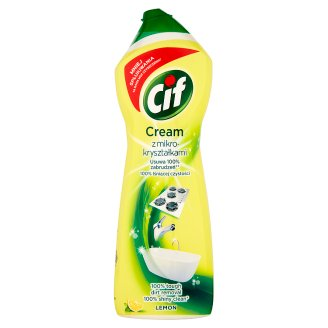 Cif Cream Lemon with Microcrystals Cleaning Surfaces Lotion 780 g