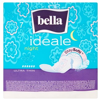 Bella Ideale Ultra Night Sanitary Pads 7 Pieces