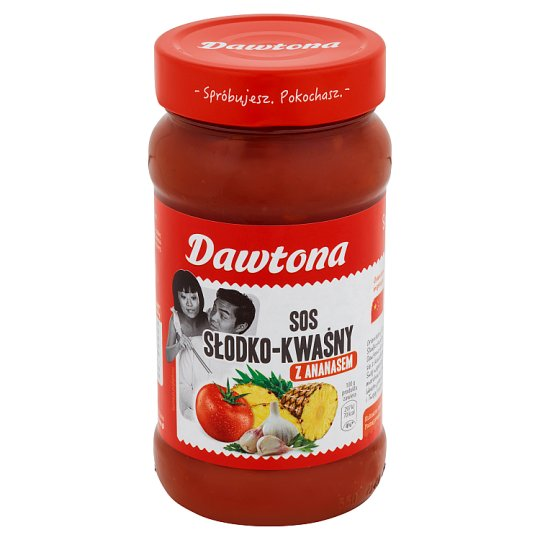 Dawtona Sweet and Sour with Pineapple Sauce 550 g
