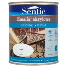 Sentic White Acrylic Enamel for Wood and Metal 750 ml
