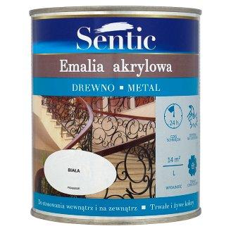 Sentic White Acrylic Enamel for Wood and Metal 750 ml