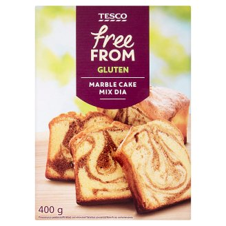 Tesco Free From Marble Cake Mix Dia 400 g