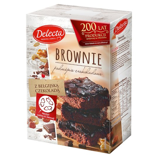 Delecta Brownie Powdered Cake 550 g