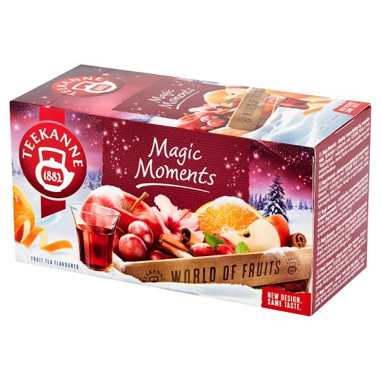 Teekanne World of Fruits Magic Moments Aromatyzowana mieszanka herbatek owocowych 50 g (20 x 2,5 g)