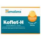 Himalaya Koflet-H Smak pomarańczowy Pastylki do ssania Suplement diety 33,6 g (12 pastylek)