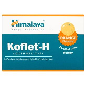 Himalaya Koflet-H Orange Flavour Lozenges Dietary Supplement 36.6 g (12 Pieces)