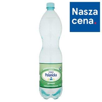 Tesco Polanicka Naturalna woda mineralna Sudety gazowana średniozmineralizowana 1,5 l