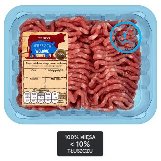 Tesco Mięso mielone wieprzowo-wołowe 500 g