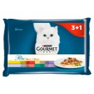 Gourmet Perle Delicate Meats Duo Complete Food for Adult Cats 4 x 85 g