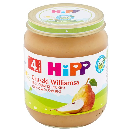 HiPP BIO Williams Pears after 4 Months Onwards 125 g