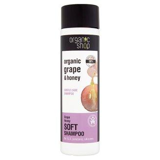 Organic Shop Winogrona i miód Delikatnie pielęgnujący szampon do włosów 280 ml
