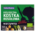 NaturAvena Vegetable Organic Bouillon Cubes 60 g (6 x 10 g)