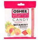 Oshee Vitamin Candy Suplement diety Karmelki twarde o smaku wieloowocowym 90 g