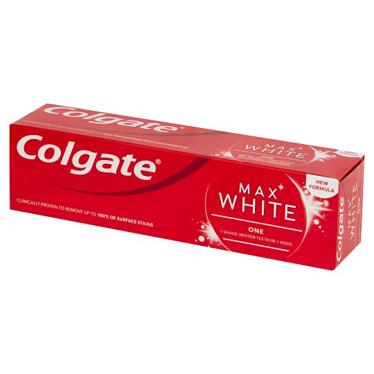 Colgate Max White One Sensational Mint Fluoride Toothpaste 75 ml