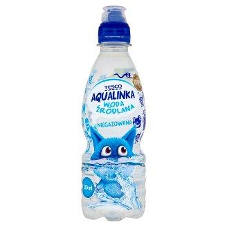 Tesco Aqualinka Woda źródlana niegazowana 330 ml