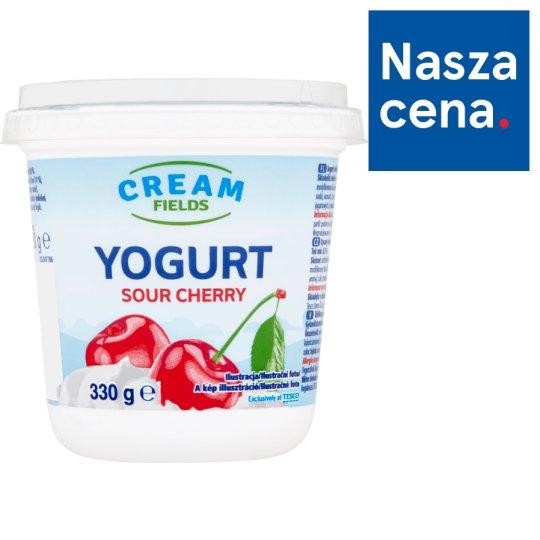Cream Fields Jogurt wiśniowy 330 g