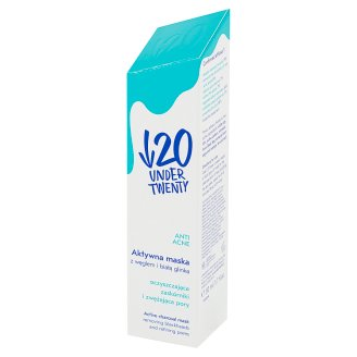 Under Twenty Anti Acne Charcoal Active Mask 50 ml