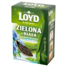 Loyd Green and White Leaf Tea with Cornflowers Petals and Aloe Vera Flavour 80 g